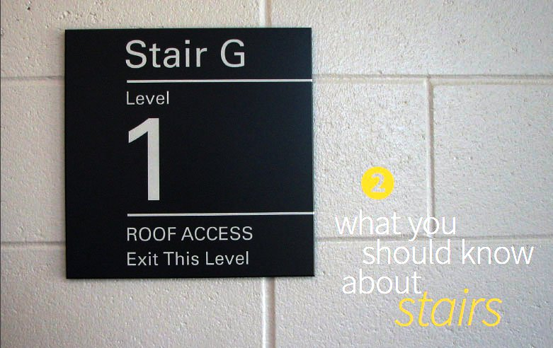 What you should know about Stairs Signs?